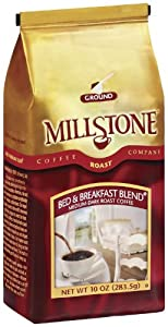 Millstone Bed and Breakfast Blend Coffee, 10 Ounce (Pack of 6)