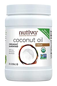 Nutiva Organic Virgin Coconut Oil, 29 Ounce (Pack of 2)