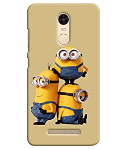 Kingcase Printed Back Case Cover For Xiaomi Redmi Note 3 - Multicolor