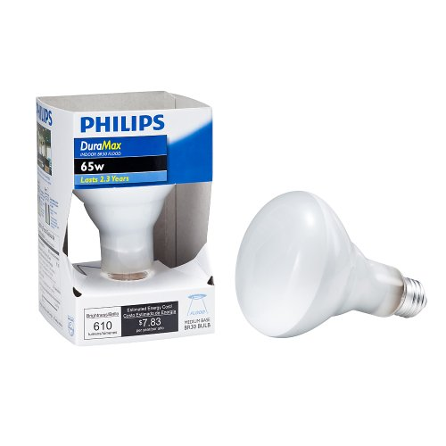 Philips 167684 Duramax 65-Watt Br30 Indoor Flood Light Bulb
