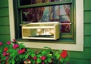 Coveside Mirrored Windowsill Bird Feeder