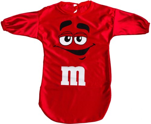 M&M Bunting Costume Color: Red