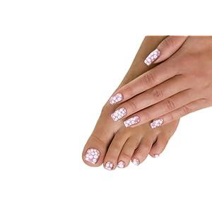 Trendy zábaly nehtů Nail Art jako rty Minx Luscious