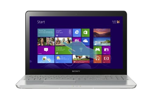 Sony VAIO SVF15A1BCXS 15.5-Inch Touchscreen Laptop (Steel Silver)