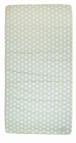 Candide Baby Group Playard Pack N Play Mattress, Beige Dots
