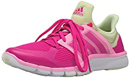 adidas Performance Women\'s Adipure 360.3 W Training Shoe,Shock Pink/Shock Pink/Halo Yellow,5.5 M US