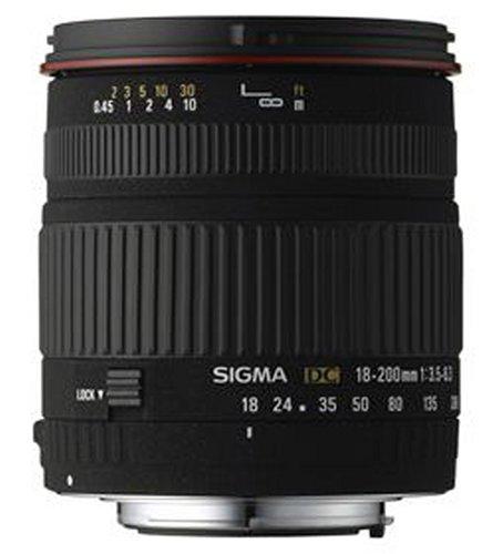 Sigma 18-200 mm F3,5-6,3 DC-Objektiv