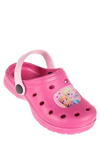 CROCS FROZEN Anna e Elsa Clogs scarpe zoccoli ciabatte mare Bambina dal 24 al 35 Fuxia disney