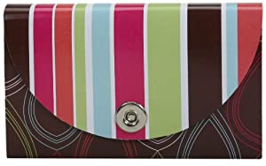 Carolina Pad Urban Mix 13-Pocket Coupon Organizer, 4.5 x 7 Inches, One of Two Designs, Design May Vary (12608)
