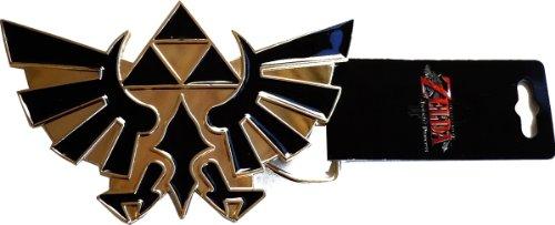 The Lengend of Zelda: Twilight Princess Triforce Logo Metal Belt Buckle