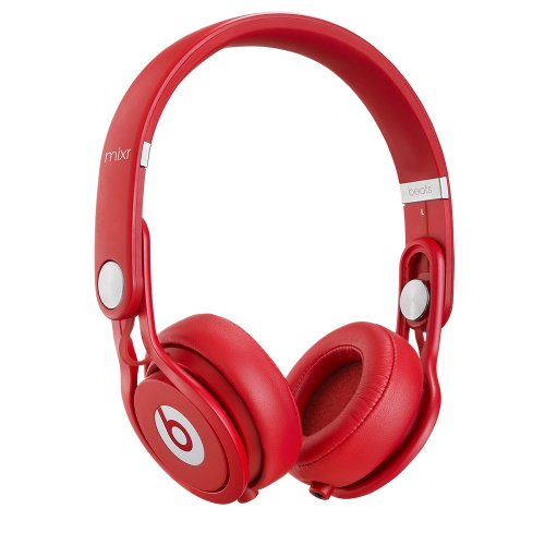 Beats Mixr On-Ear Headphone (Red)