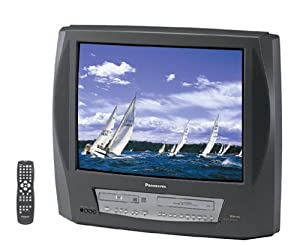 Panasonic PV-DM2793 27-Inch TV-DVD-VCR Combo , Charcoal