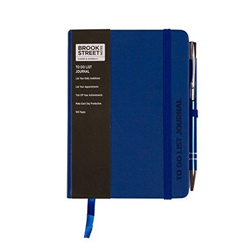 Taccuino con lista delle cose da fare, formato A6 A6 Blu