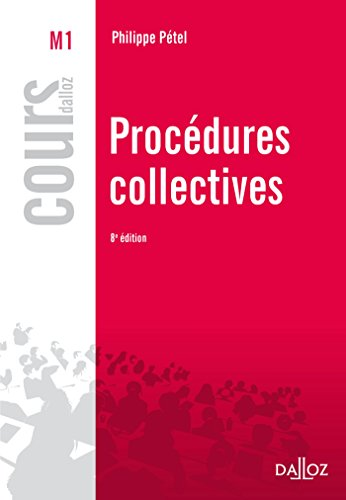 Procédures collectives - 8e éd.