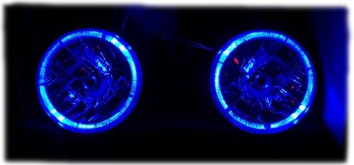 86-95 SUZUKI SAMURAI BLUE HALO EURO CLEAR HEADLIGHT CONVERSION KIT