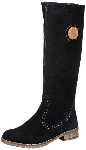 Remonte R3388 - Stivali da Equitazione Donna, Nero (schwarz/mogano / 11), 43 EU