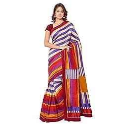 Senorita Fashion Multicolor Pashmina Silk Printed Saree