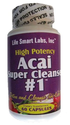 416KfKfNXWL. SL500  Acai Berry Cleanse Super Cleanse and Detox Review