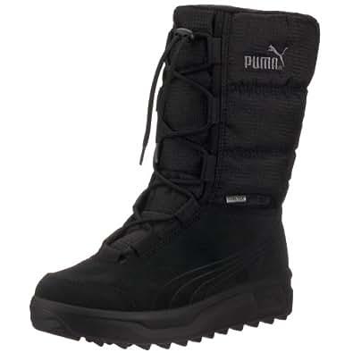 Puma Borrasca III GTX 301865, Unisex-Erwachsene Schneestiefel, Schwarz (black-black 01), EU 36 (UK 3) (US 4)