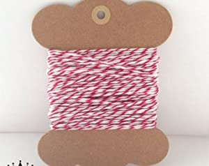 10 Metres of Red/White Craft - Bakers - Butchers - String - Twine