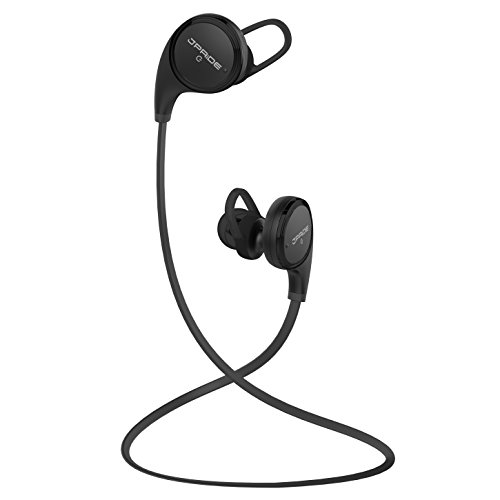 (JPRiDE) QY8 MK-II Bluetooth ワイヤレスイヤホン iPhone7 AAC / APT-X コーデック対応 高音質 ブルートゥース イヤホン IPX4 防水等級 CVC6.0 ノイズキャンセリング 機能搭載 マイク内蔵 ハンズフリー通話 技適認証済 (Black)
