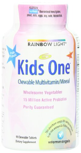 RAINBOW LIGHT - MULTIVITAMIN KIDS ONE MULTISTARS