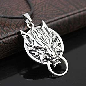 Final Fantasy VII Cloudy Wolf cloud wind Cosplay Accessories / necklace (japan import)
