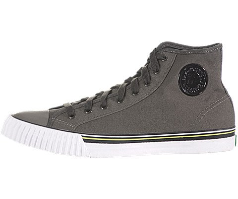 PF Flyers Men's Center Hi Reissue Sneaker,Black,5.5 D US