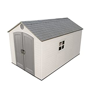 Lifetime 8-Feet x 12.5-Feet Storage Shed, # 6402