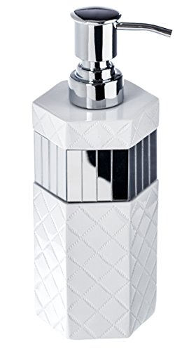Quilted Mirror Decorative Soap Dispenser (3