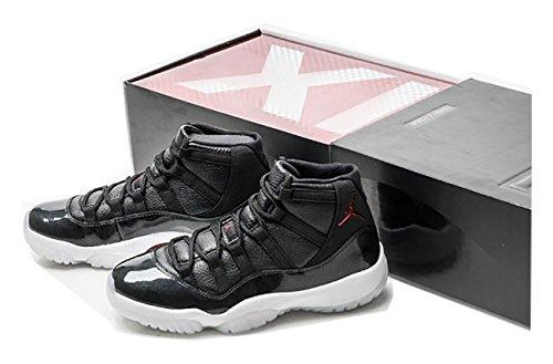 air-jordan-11-retro-72-10-chicago-bulls-leather-black-gym-red-basketball-shoes