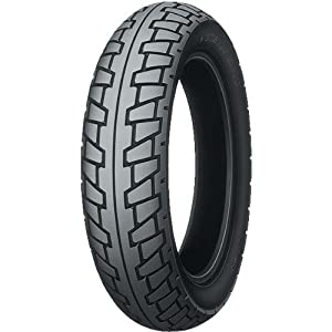 Dunlop K630 Tire - Front - 100/80S-16 , Rim Size: 16, Speed Rating: S, Tire Type: Street, Tire Construction: Bias, Tire Size: 100/80-16, Load Rating: 50, Position: Front, Tire Application: Sport 32PU62