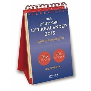 Der deutsche Lyrikkalender 2013