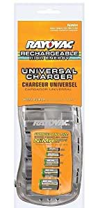 Amazon.com: Rayovac PS3D Universal Battery Charger for AA