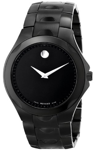 Movado Men's 0606536 Luno Sport Black PVD Watch image