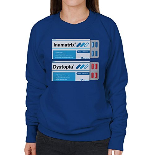 Red Or Blue Matrix Pills Women's Sweatshirt