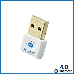 Leoxsys LB4 Bluetooth 4.0 USB Adapter dongle High speed data transfer (LB4)