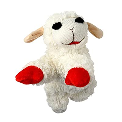 Multi Pet Lamb Chop Dog Toy, 10""