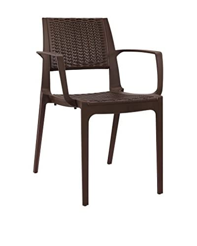Modway Astute Dining Chair, Coffee