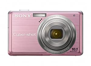Sony Cybershot DSC-S950 10MP Digital Camera with 4x Optical Zoom with Super Steady Shot Image Stabilization (Pink)