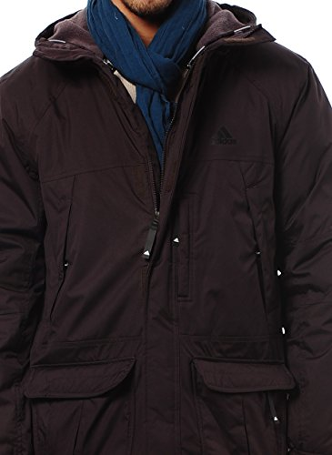 adidas -  Giacca - Parka - Uomo Purple - Nightburgundi Small