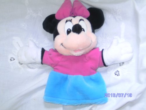 Minnie Mouse Plush Hand Puppet - 1