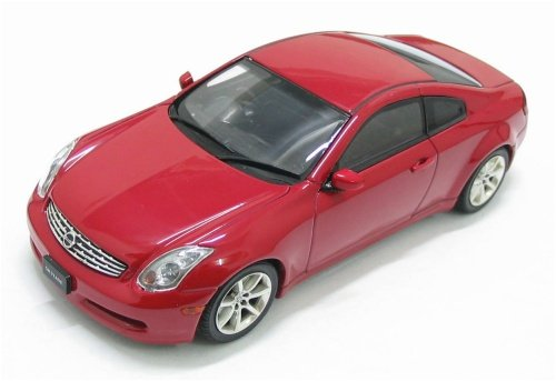Infiniti 350gt Skyline. Nissan Skyline Coupe 350GT (Infiniti G35) Red 1/43 Scale Diecast Model Ebbro is a brand of MMP Limited which is based in Japan. They distribute high quality