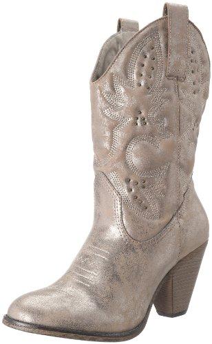 5dbfaefde6b MIA 2 Women's Larue Boot,Rose Gold,8 M US - Import It All