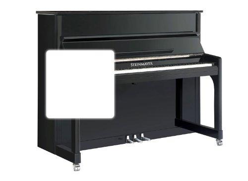 Steinmayer UP 120-M Klavier Weiß-Hochglanz (88 Tasten Piano, 3 Pedale, Konsole, Größe 150cm x 61cm x 120cm)