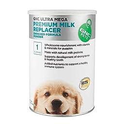 GNC Pets Ultra Mega Premium Milk Replacer for Puppies 28 oz