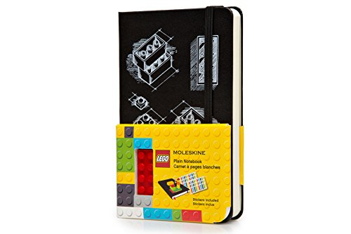 Moleskine LEGO Limited Edition Notebook II, Pocket, Plain, Black, Hard Cover (3.5 x 5.5) (Moleskine Limited Edition)