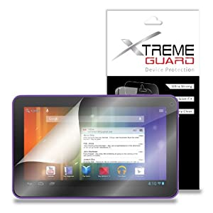 "XtremeGuardTM eMatic Genesis Prime XL 10.1"" Tablet Screen Protector (Ultra Clear) at Electronic-Readers.com"