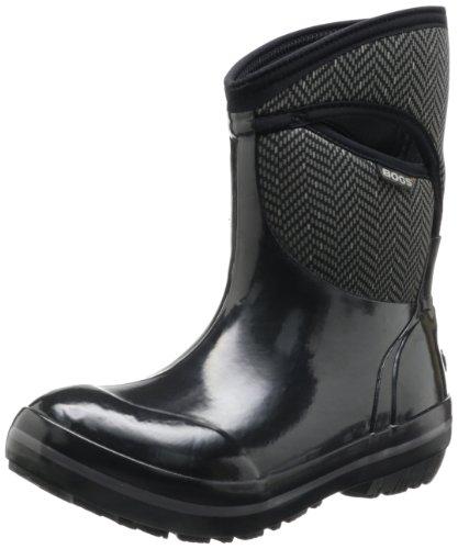 Bogs Women's Plimsoll Mid Herringbone Boot