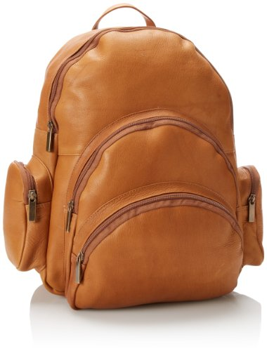 B001BLJK0I David King & Co. Expandable Backpack, Tan, One Size